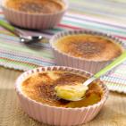 Crème Brûlée à l'ossau iraty - Ossau Iraty - fromages AOC - Ossau Iraty Onetik - Crème brûlée fromage - recette fromage