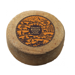Pur Vache Grand Basque Onetik - Fromage de Vache - Fromage Vache Basque - Fromage Basque