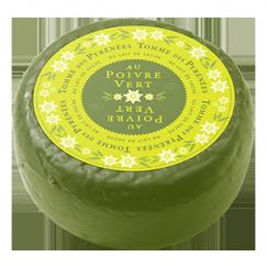 Tomme Noire au poivre vert Onetik - Fromage de Vache - Fromage Vache Basque - Fromage Basque