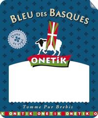 Portion Bleu des Basques Onetik - Fromage Bleu des Basques Onetik - Portion de fromage - Fromage basque - Fromage à pâte persillée
