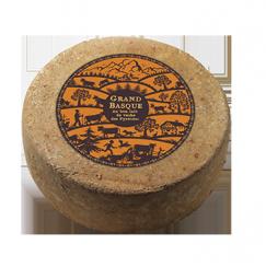 Pur Vache Grand Basque Onetik - Fromage de Vache - Fromage Vache Basque - Fromage Basque